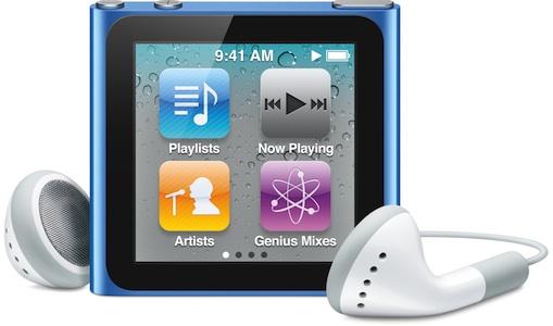 6th generation ipod nano 1